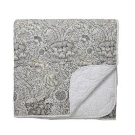Wandle Grey Quilted Throw