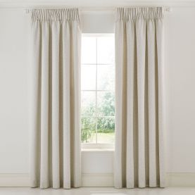 "Wandle Lined Curtains 66"" x 90"", Grey"