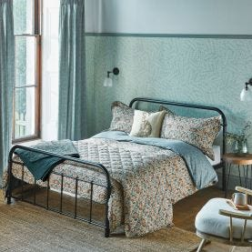Little Chintz Teal Bedding