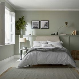 Silva Grey Floral Bedding