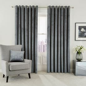 Escala Steel Lined Curtains