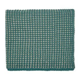 Trisara Emerald Knitted Throw