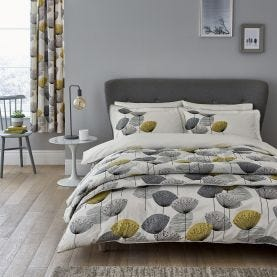 Dandelion Clocks Bedding