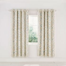 Sea Kelp Blush Lined Curtains