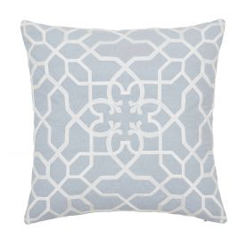 Sycamore Blue Mist Cushion Front.