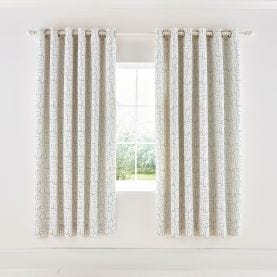 Composition Putty Lined Curtains