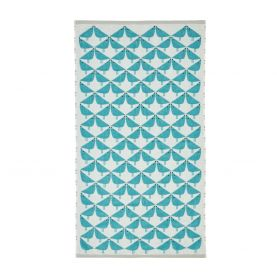 Lintu Bath Towel, Teal