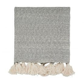 Composition Putty Knitted Throw