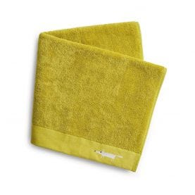Mr Fox Embroidered Towels Citrus