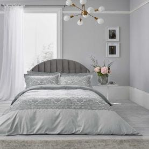 New Rococo Bedding Silver