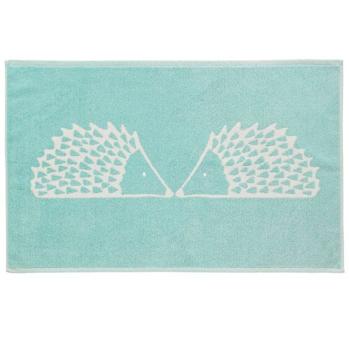 Spike Bath Mat, Aqua