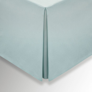 50/50 Plain Dye Percale Double Valance, Celadon