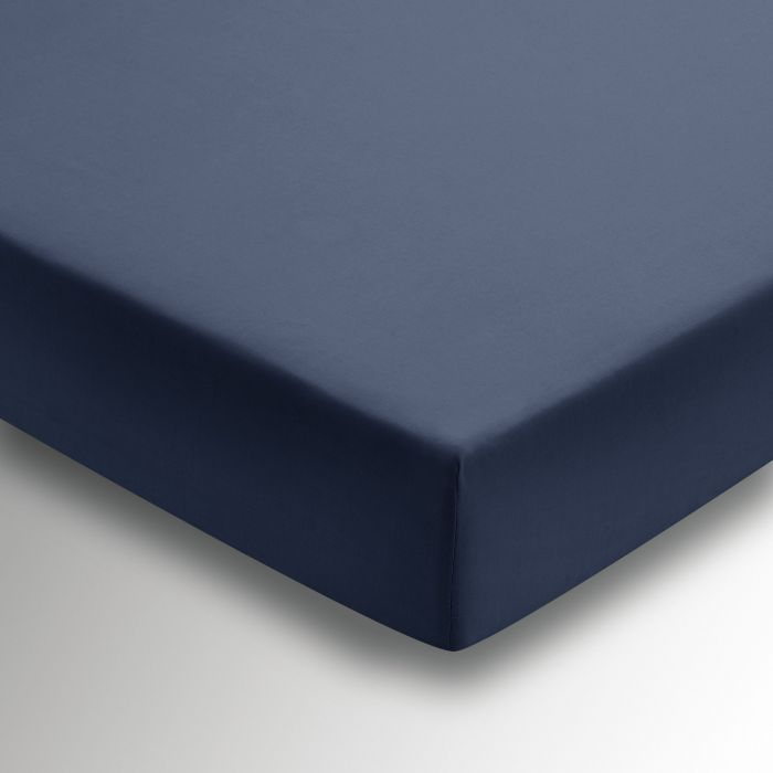 50/50 Plain Dye Percale Fitted Sheet Ink