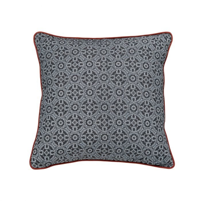 Cadenza Grey Cushion Front