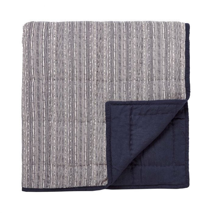 Kateri Quilted Throw Midnight