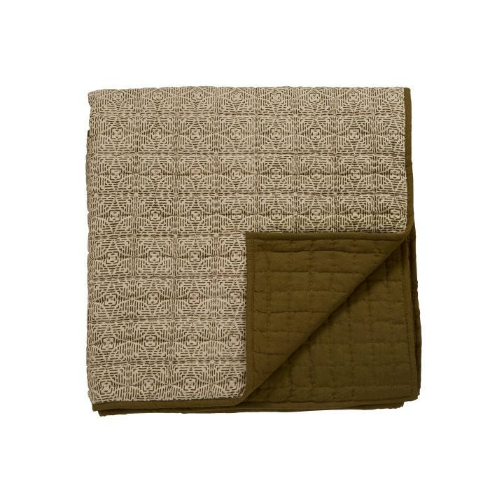 Kuja Quilted Throw