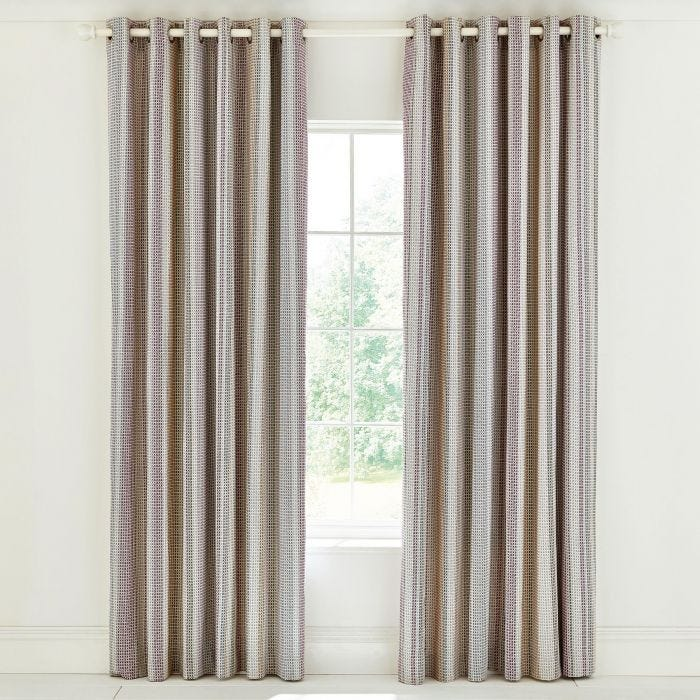 Nukku Mulberry Lined Curtains