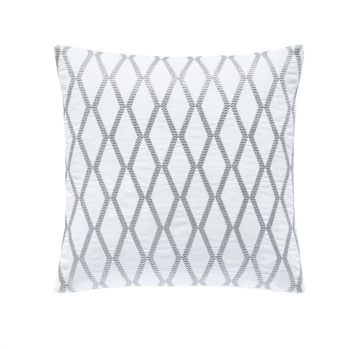 Belvedere Cushion In Platinum