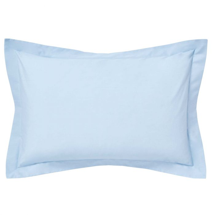 Luxury Blue Oxford Pillowcase