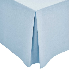 Blue Plain Dye Base Valance (Superking)