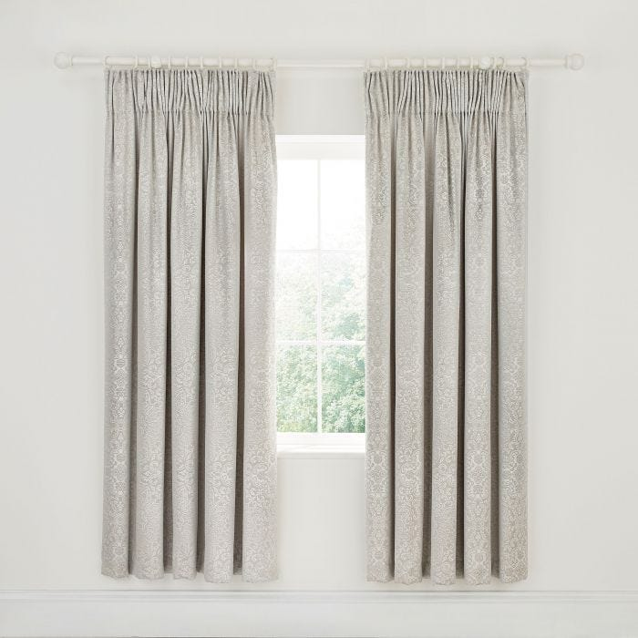 Dita Lined Curtains Parchment