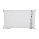 Zahra Graphite Housewife Pillowcase