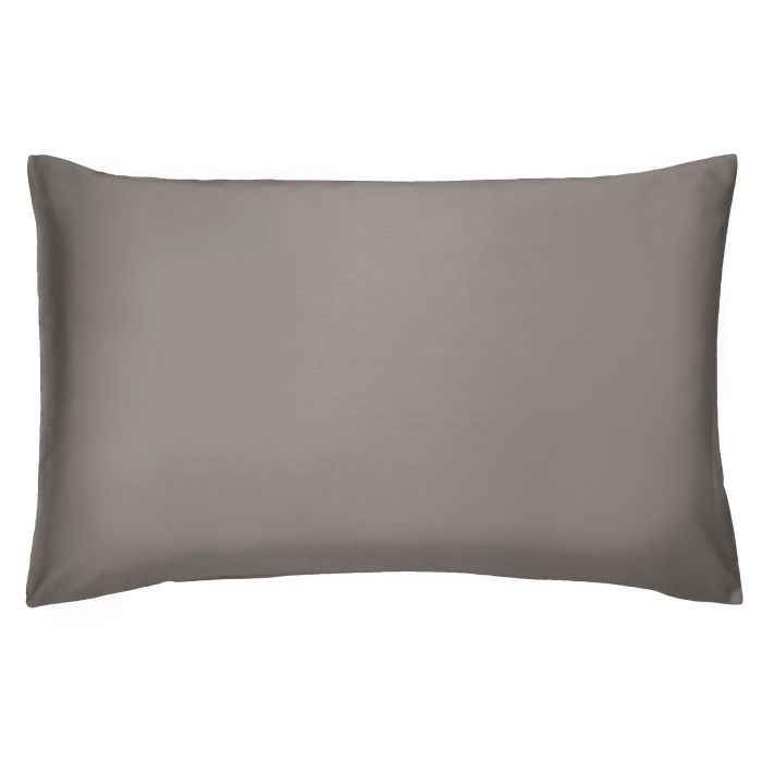 Bedeck 400 Thread Count, Housewife Pillowcase, Charcoal