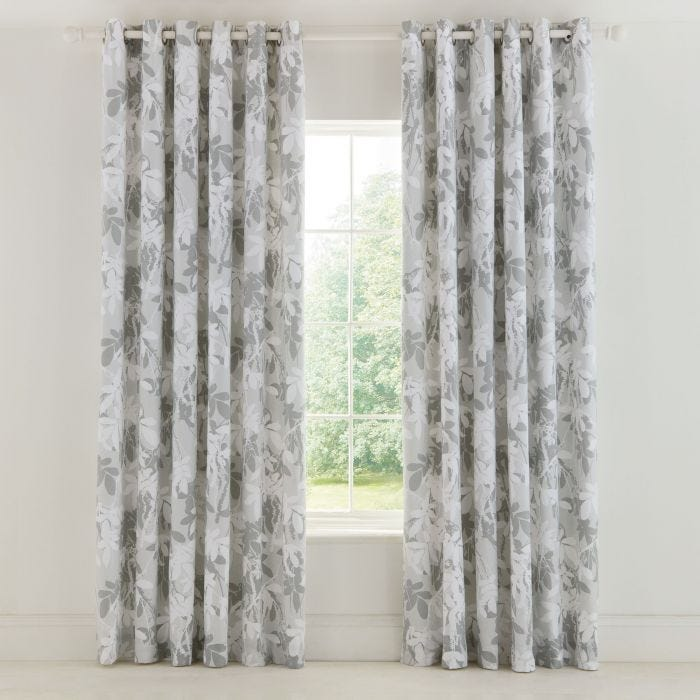 Jungle Lined Curtains.