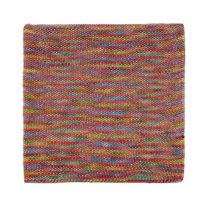 Jungle Tropical Knitted Throw.