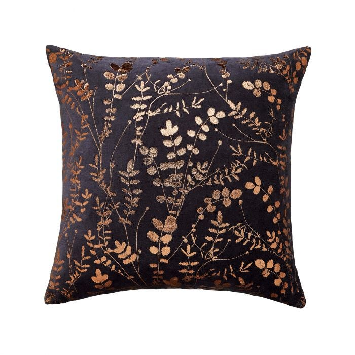 Salvia Cushion Dark Blue
