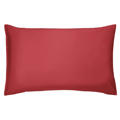 Bedeck 400 Thread Count, Housewife Pillowcase, Crimson