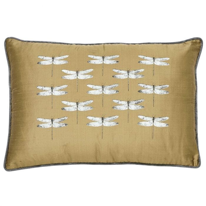 Demoiselle Cushion Front, Graphite