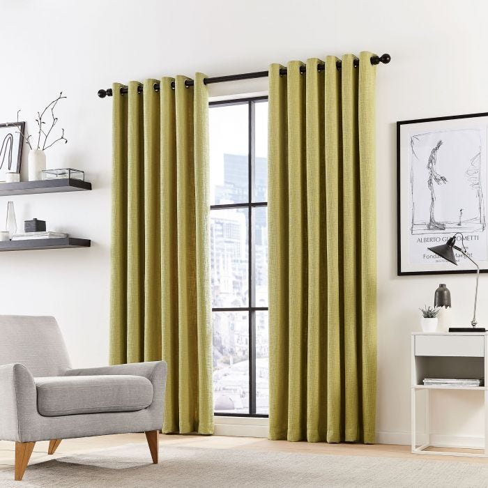 Madison Fennel Lined Curtains