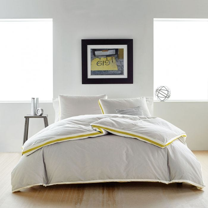 Sport Stripe Silver Bedding