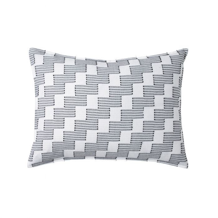 Step Up Black/White Housewife Pillowcase.