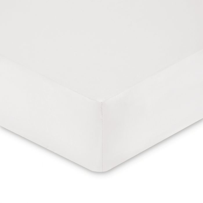 Plain Dye Kingsize Fitted Sheet - Silver