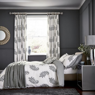 Simone Grey Paisley Pattern Bedding