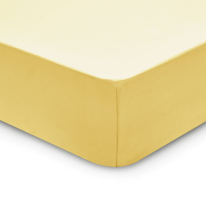 Bedeck 1951 200 Thread Count, Single Fitted Sheet, Citrine