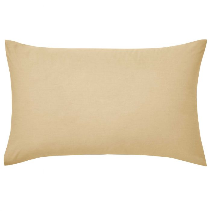 Luxury Plain Gold Pillowcase