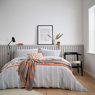 Chambray Grey Scandi Bedding