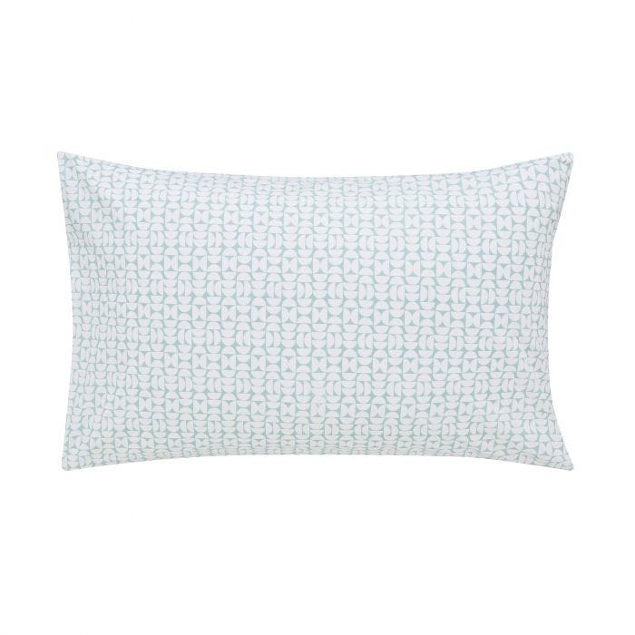 Liv/Tolka Pair of Housewife Pillowcases Teal