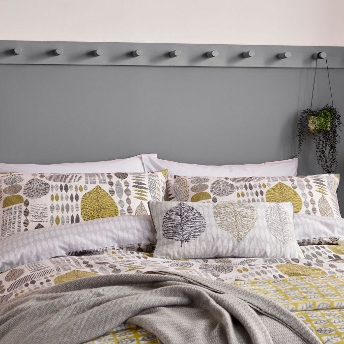 Unna Bedding Chartreuse