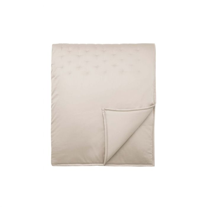 Stitched Quilted Throw Glazed Stone