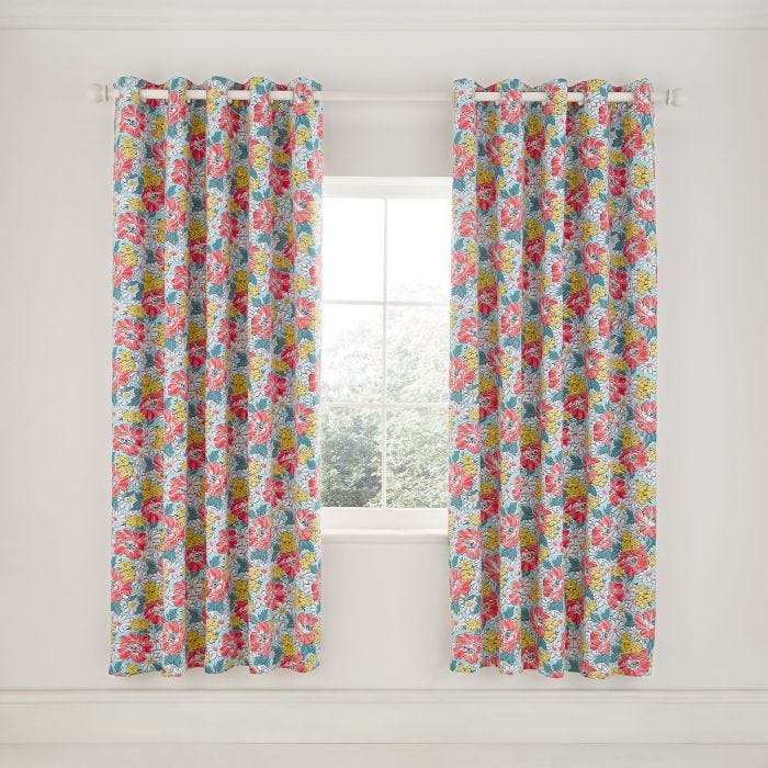 Mary Jane Duck Egg Curtains