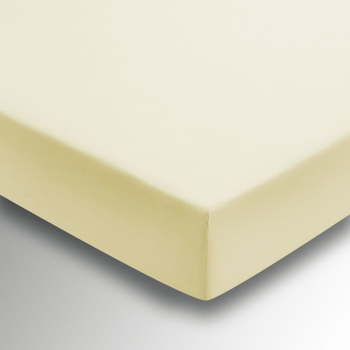 50/50 Plain Dye Percale Fitted Sheet Citron