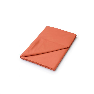 50/50 Plain Dye Percale Single Flat Sheet Coral