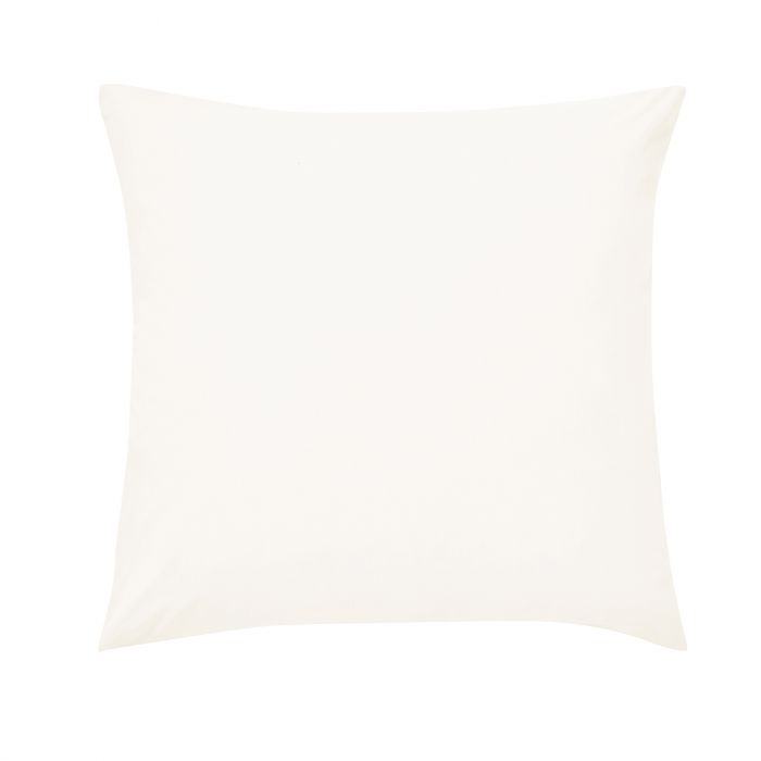 Plain Dye Percale Square Pillowcase