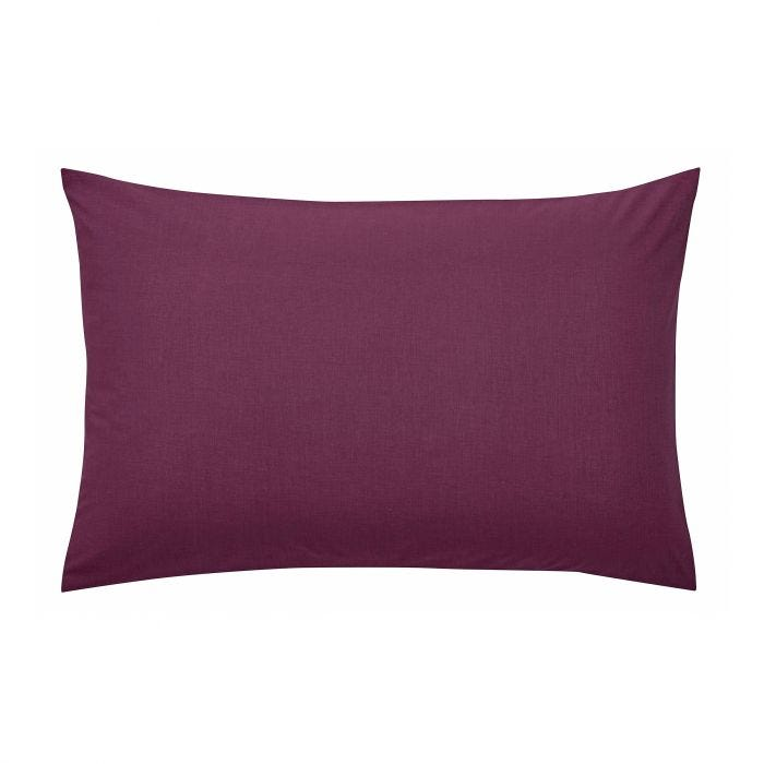 Plain Mulberry Housewife Pillowcase