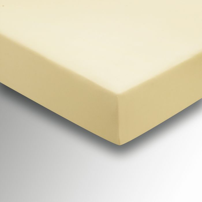 Plain Dye Percale Single Fitted Sheet