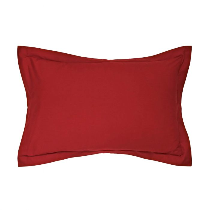 Red Oxford Style Pillowcases